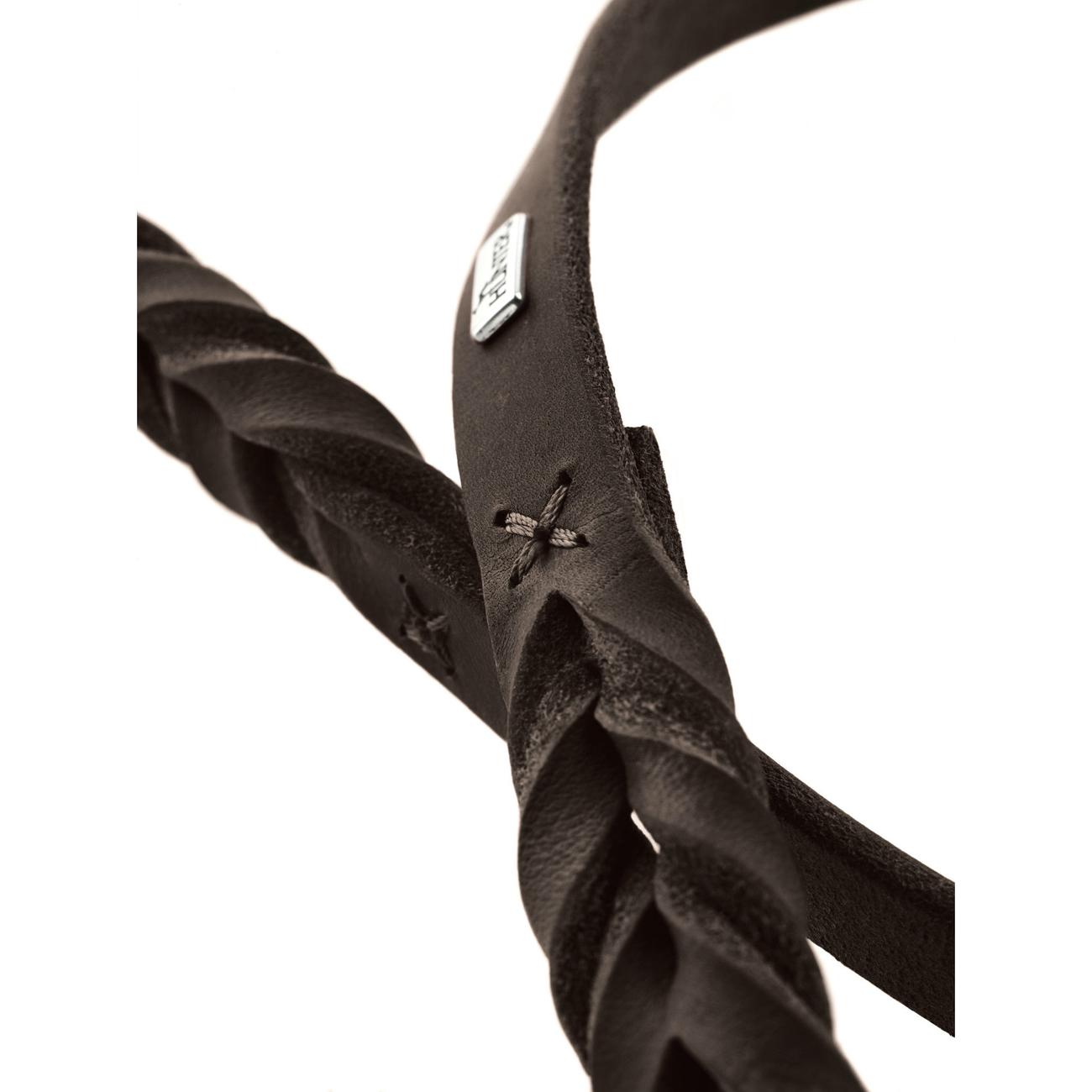 Hunter Verstellbare Führleine Solid Education Leder geflochten 66112, Bild 8