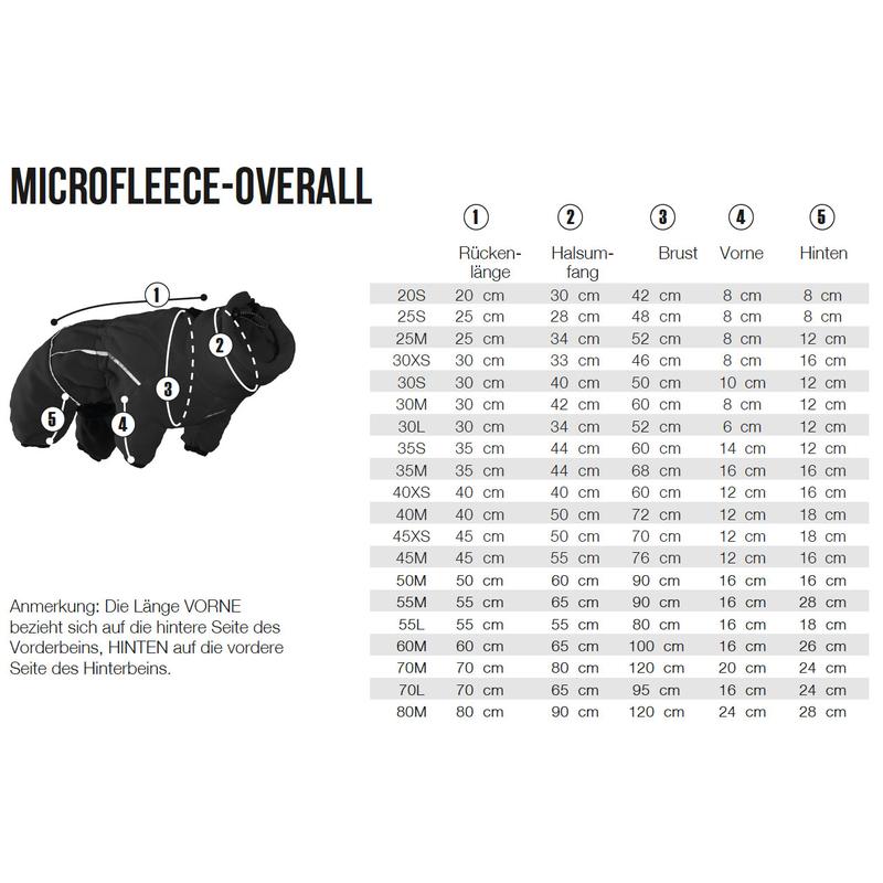 HURTTA Microfleece Overall für Hunde, Bild 4