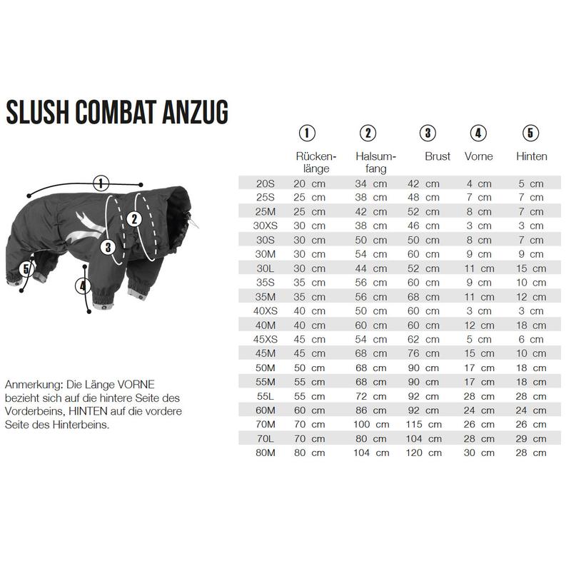 HURTTA Slush Combat Suit Hundeoverall, Bild 5