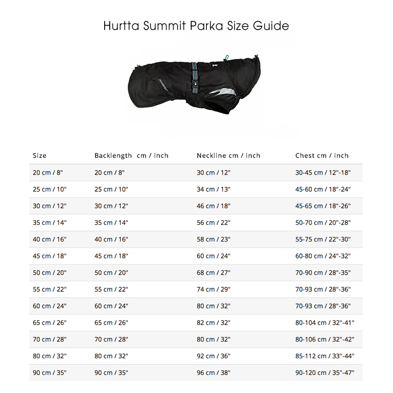 HURTTA Wintermantel für Hunde Summit Parka, Bild 8