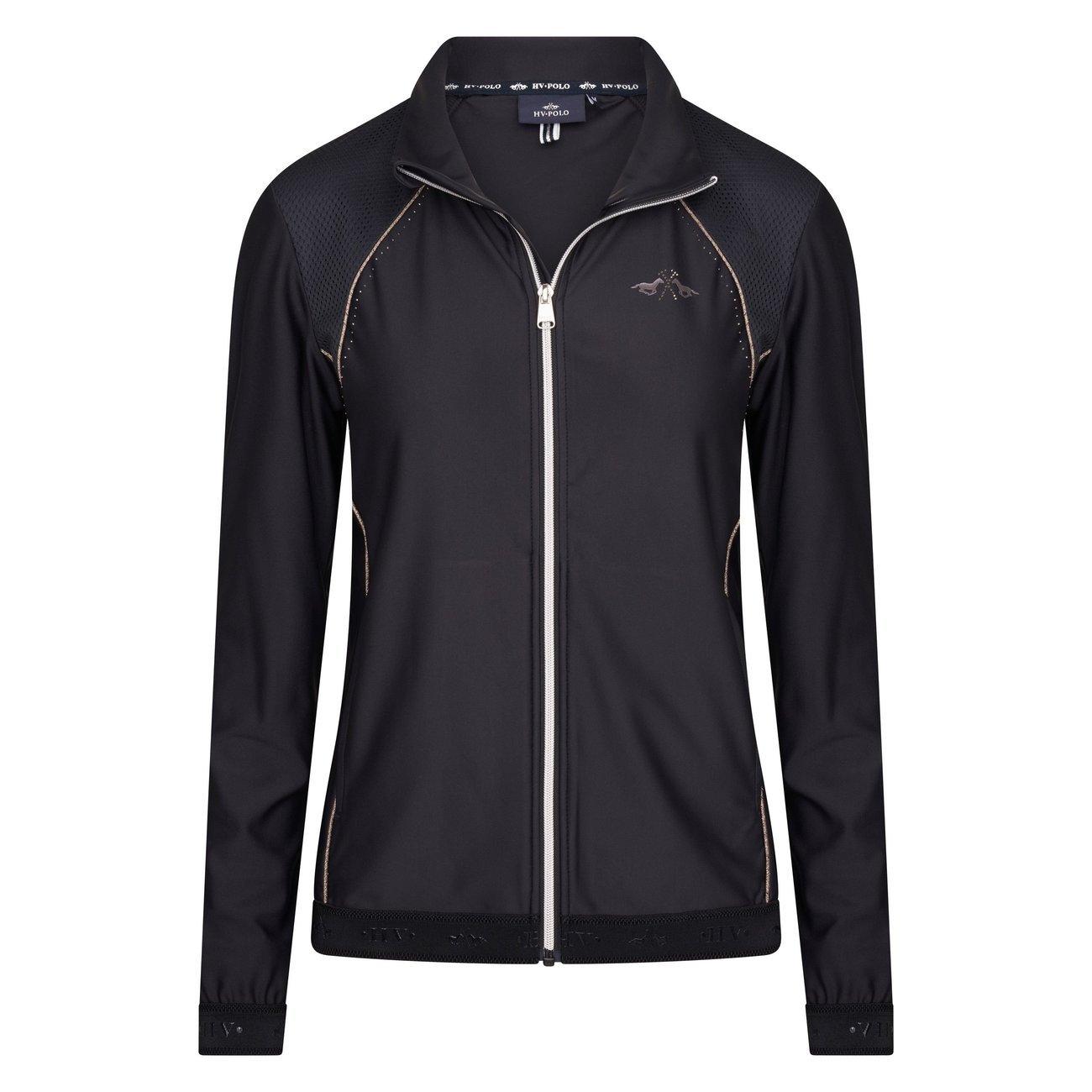 HV Polo Cardigan Sporty, Gr. S, black