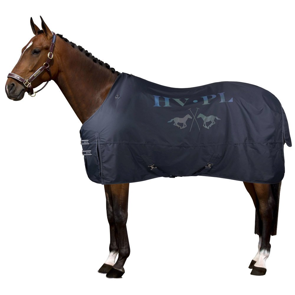 HV Polo leichte Pferde Regendecke Fleece, Bild 5