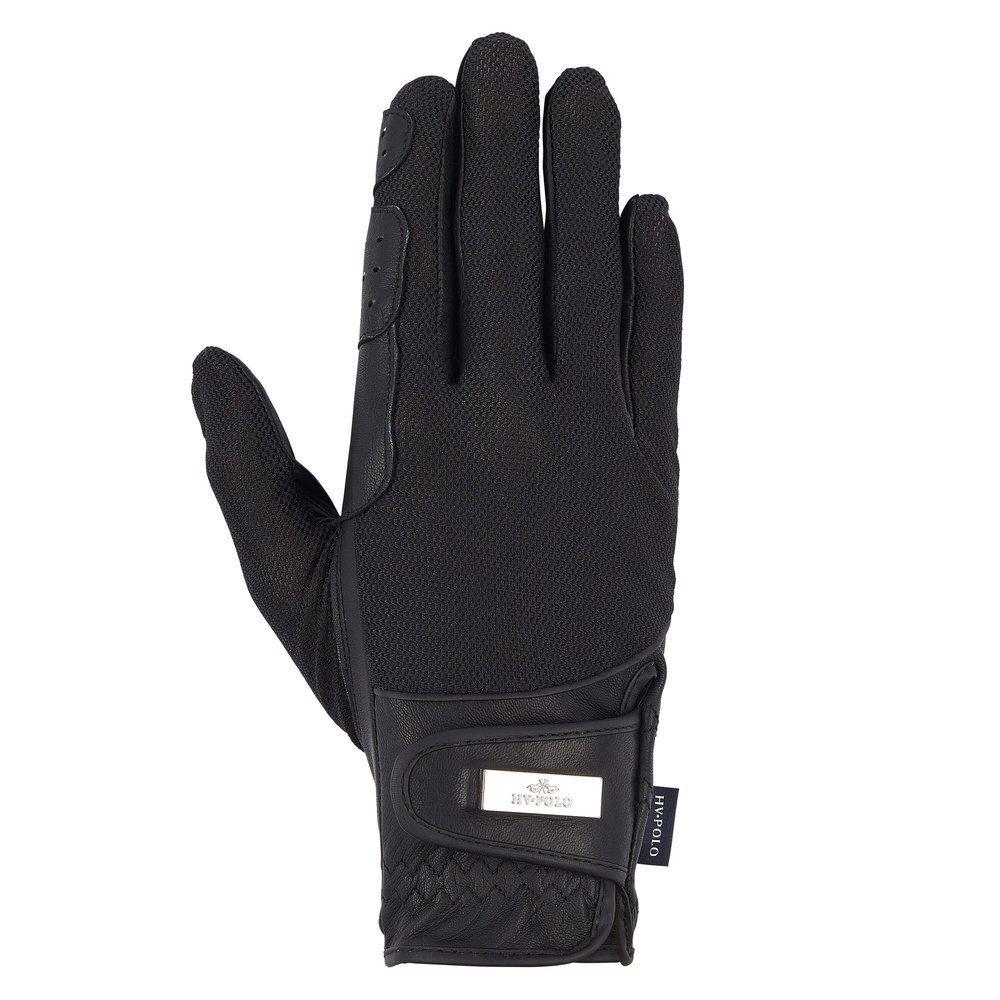 HV Polo Handschuhe Darent für Reiter, Gr. M - black