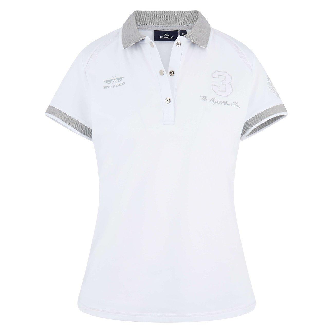 HV Polo Poloshirt Favouritas Tech weiss, Gr. 2 XL - white