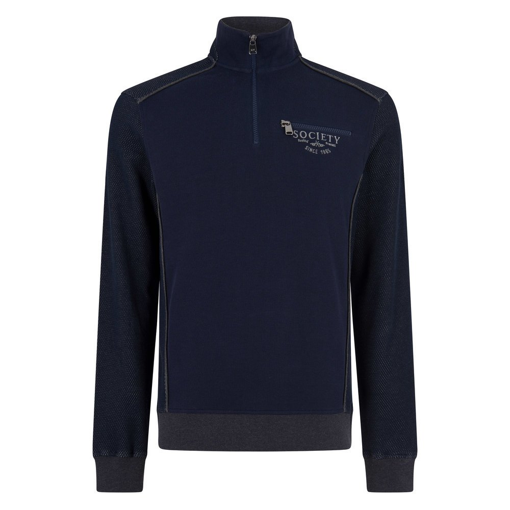 HV Polo Cardigan Sven, Gr. 2XL - navy