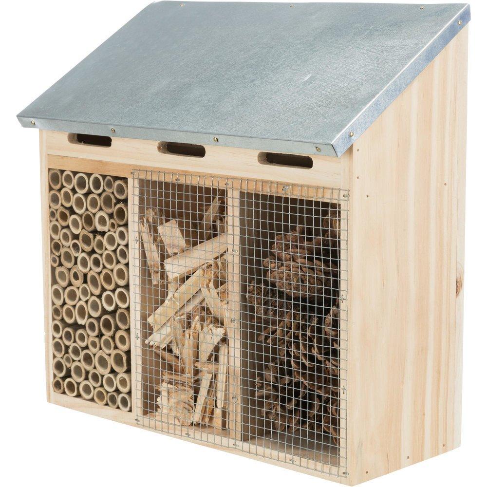 TRIXIE Insektenhotel drei geteilt 59511