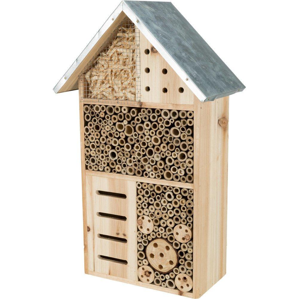 Trixie Insektenhotel mit Spitzdach, 29 × 49 × 16 cm
