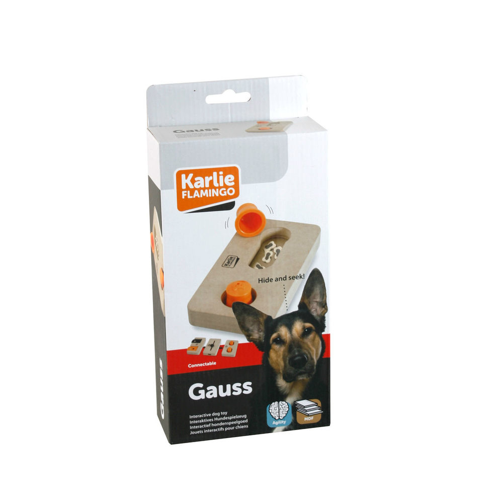 Karlie Interaktives Hundespielzeug Brain Train Gauss, L: 22 cm B: 12 cm