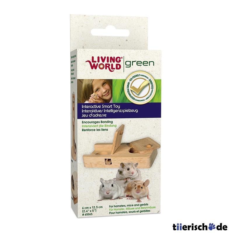 Living World Green Interaktives Intelligenzspielzeug für Kleintiere, Bild 4