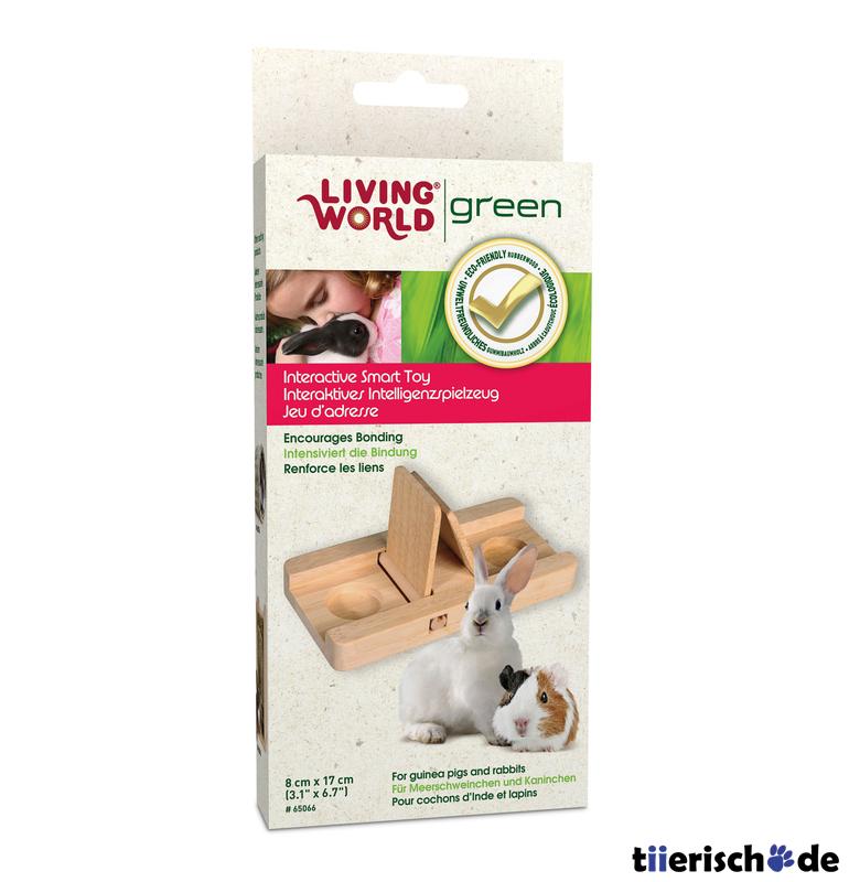 Living World Green Interaktives Intelligenzspielzeug für Kleintiere, Bild 5
