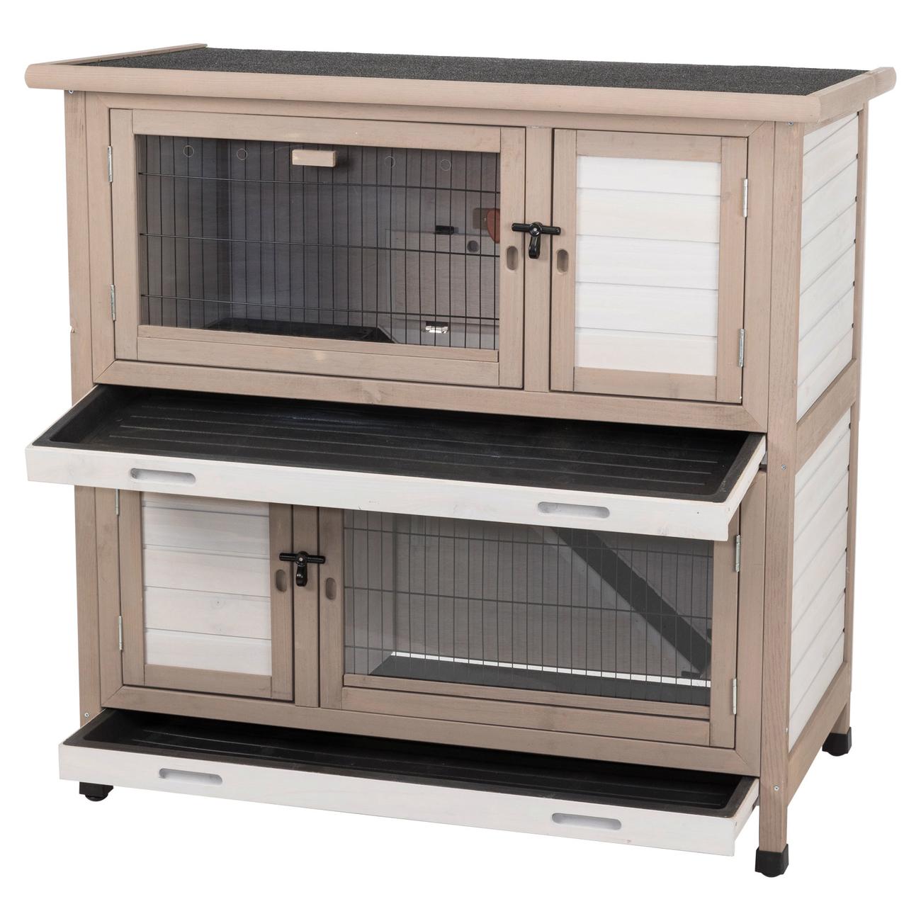 TRIXIE Isolierter Kaninchenstall für Draußen 62403, Bild 6