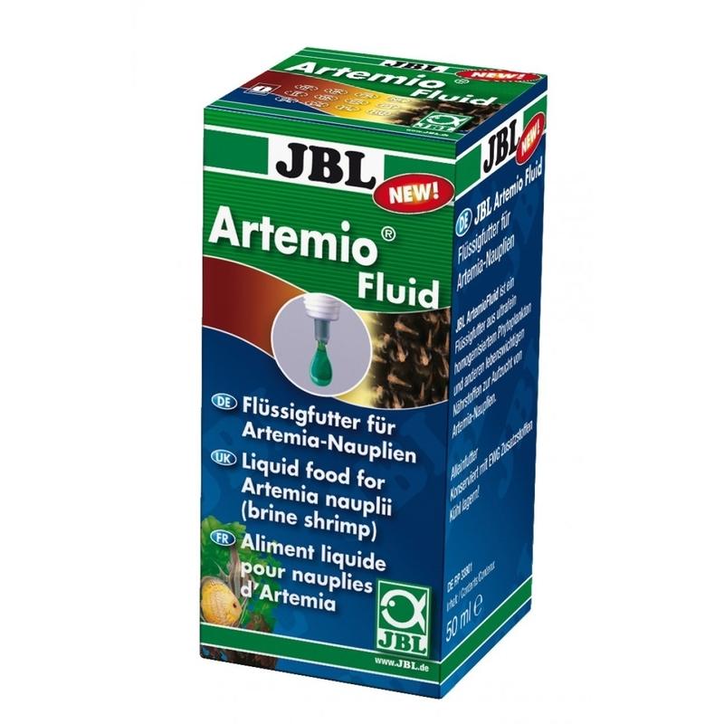 JBL ArtemioFluid Artemia Flüssigfutter, 50ml