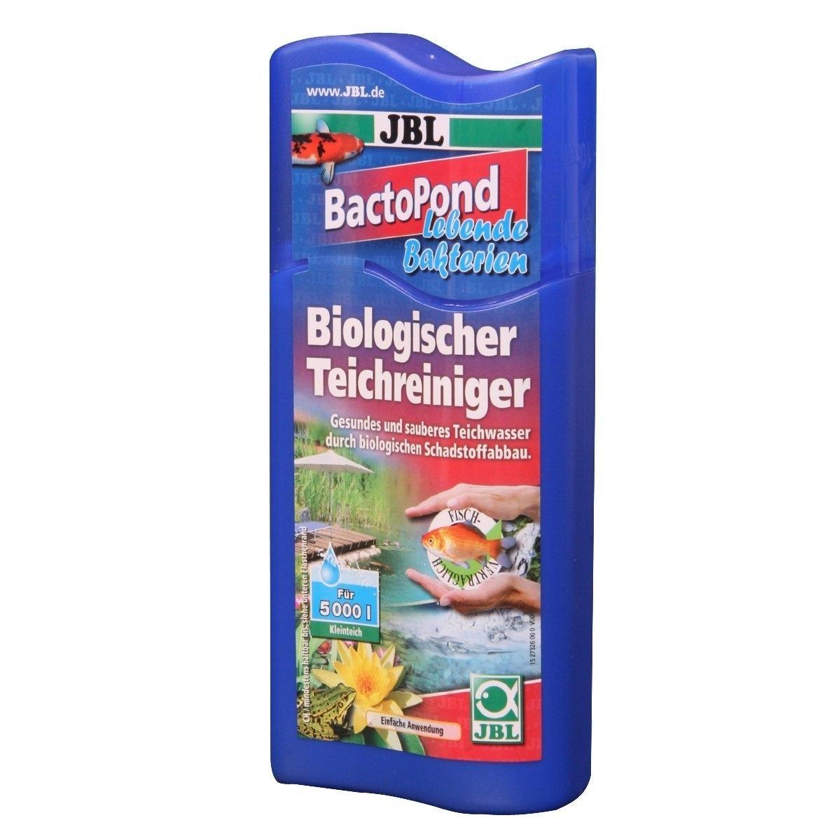 JBL BactoPond Bakterien zur Selbstreinigung vom Teich, 250 ml