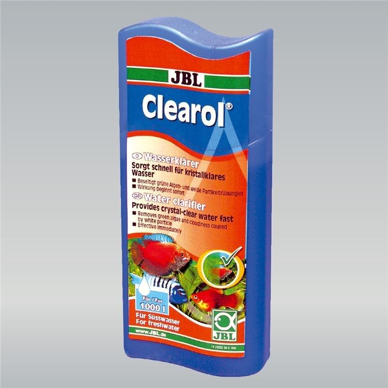 JBL Clearol für kristallklare Süßwasser-Aquarien, 250 ml (Reichweite 1000l)