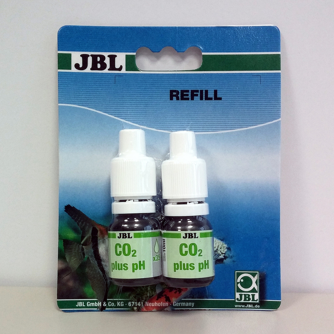 JBL Permanent CO2/pH Test-Set, Permanent CO2/pH Test-Set