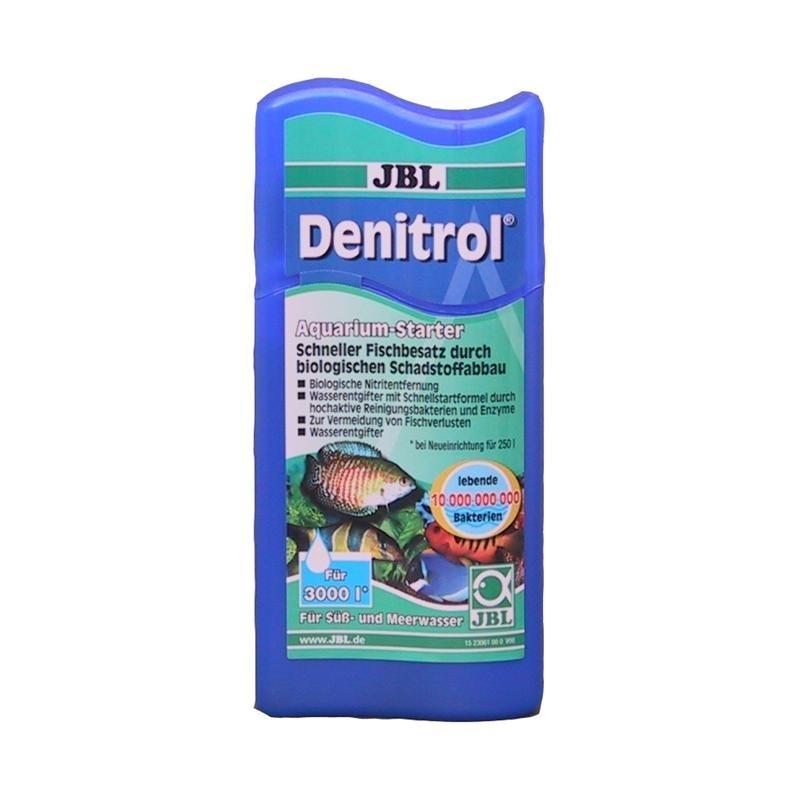 JBL Denitrol Bakterienstarter, 100 ml (Reichweite 3000l)