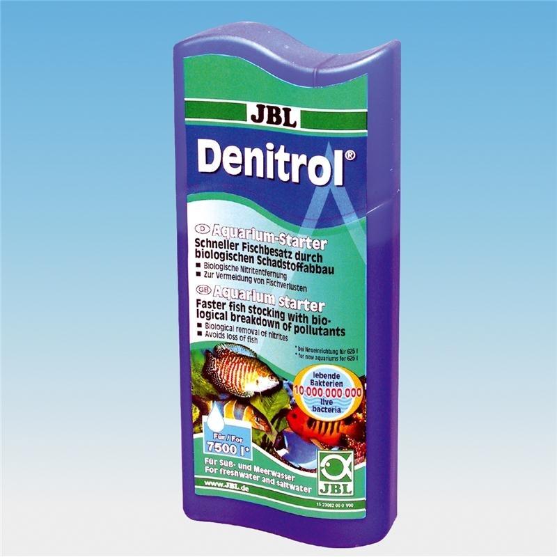 JBL Denitrol Bakterienstarter, 250 ml (Reichweite 7500l)