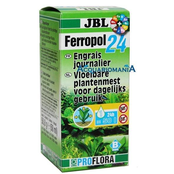 JBL Ferropol 24 Tages-Pflanzendünger, 50 ml