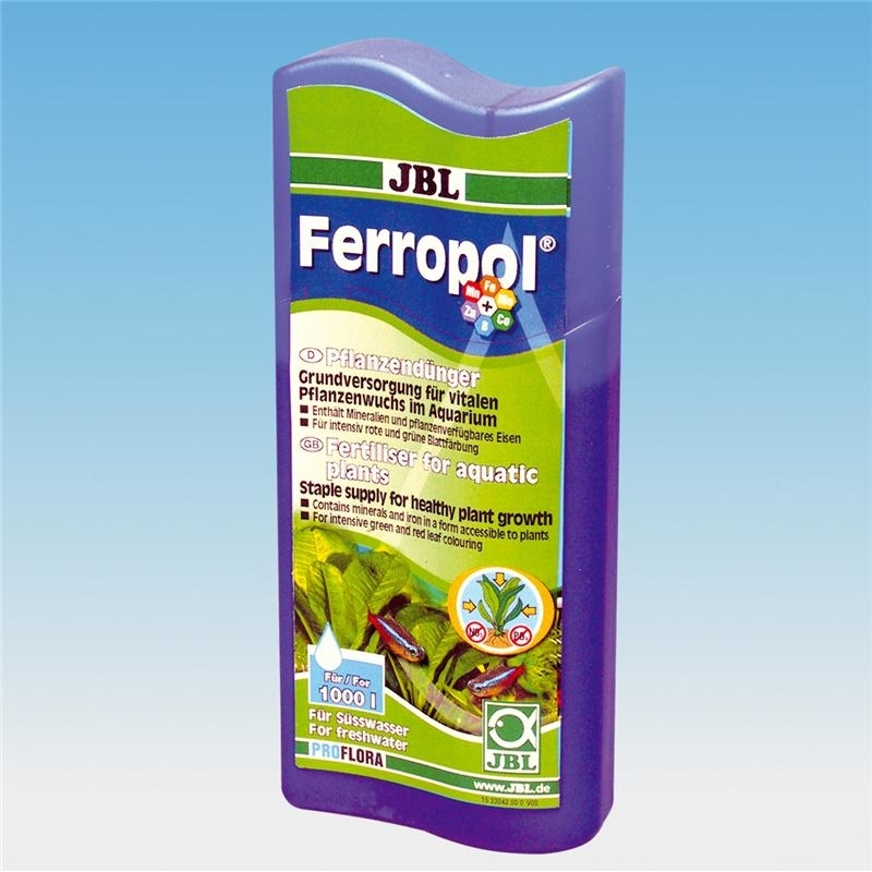 JBL Ferropol Pflanzendünger für Süßwasser-Aquarien, 250 ml