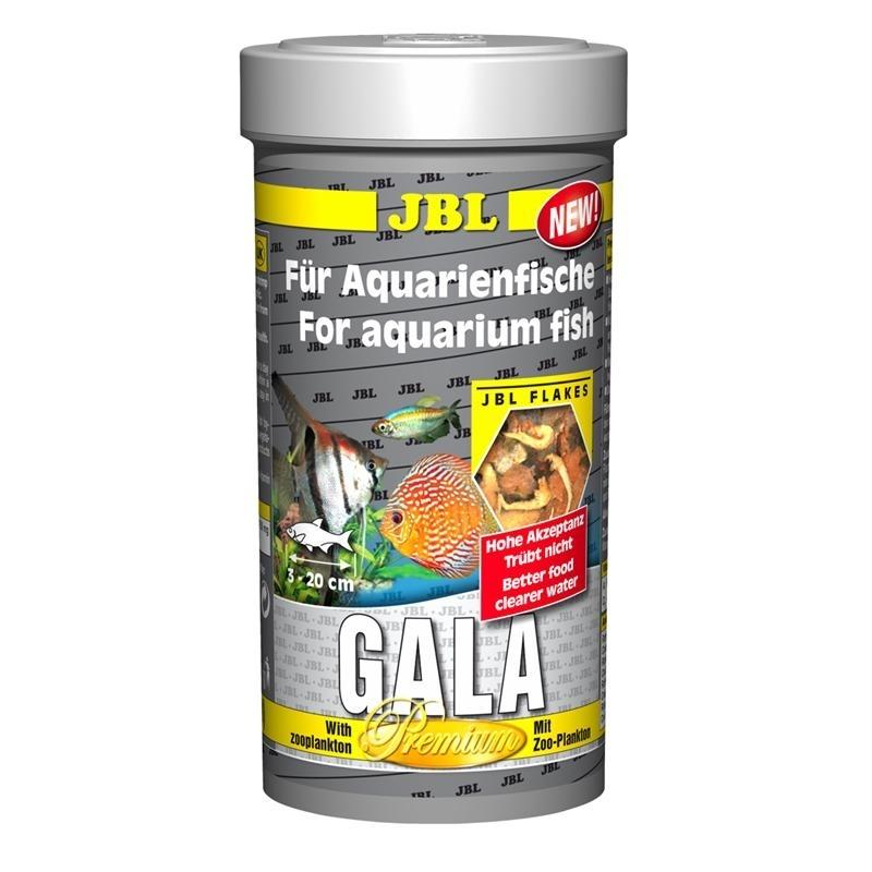 JBL Gala - Premium-Hauptfutter für Aquarienfische, 250 ml