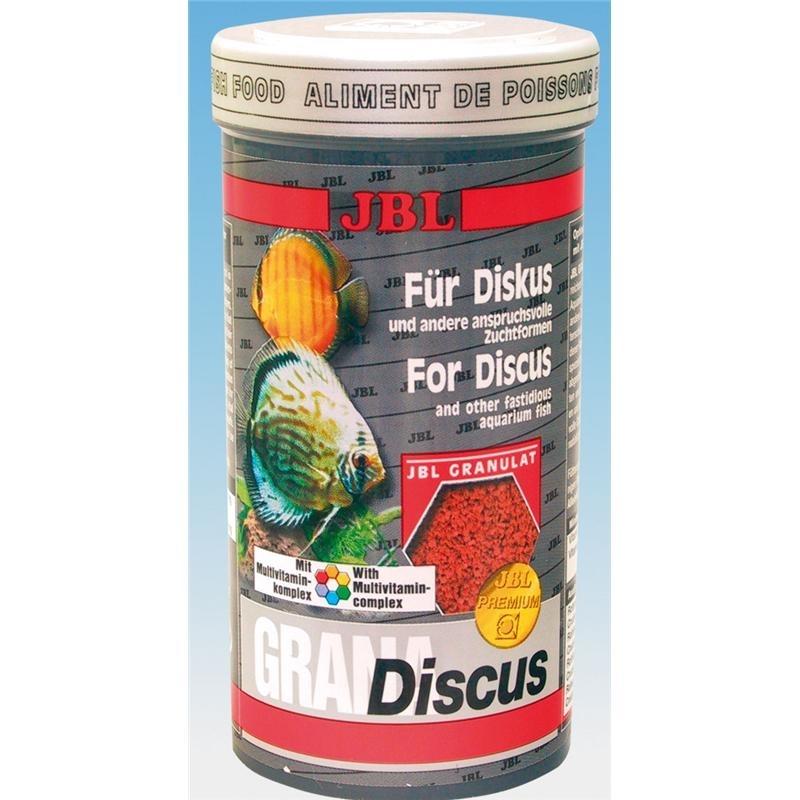 JBL GranaDiscus Premium-Hauptfuttergranulat für Diskus, 250 ml