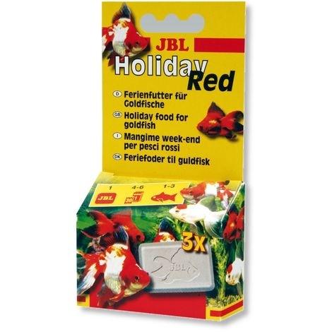JBL Holiday Red Ferien-Alleinfutter für Goldfische, 17 g