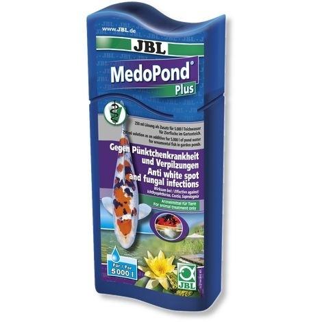 JBL MedoPond Plus gegen Pünktchenkrankheit und Verpilzung, 250 ml