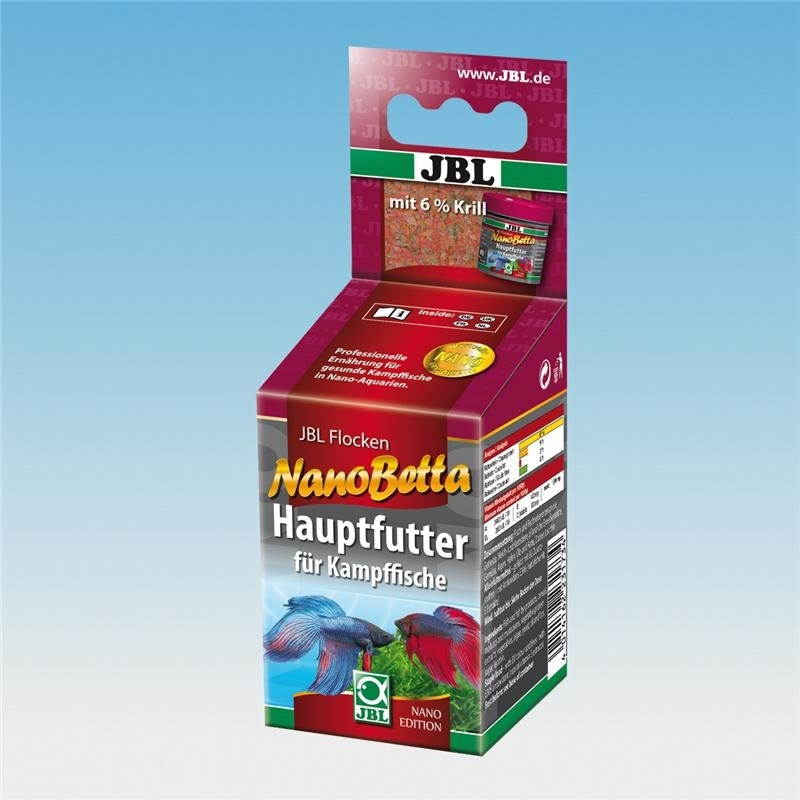 JBL NanoBetta Hauptfutter für Kampffische, 60 ml