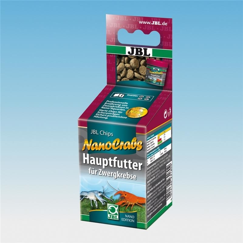 JBL NanoCrabs Hauptfutter für Zwergkrebse, 60 ml