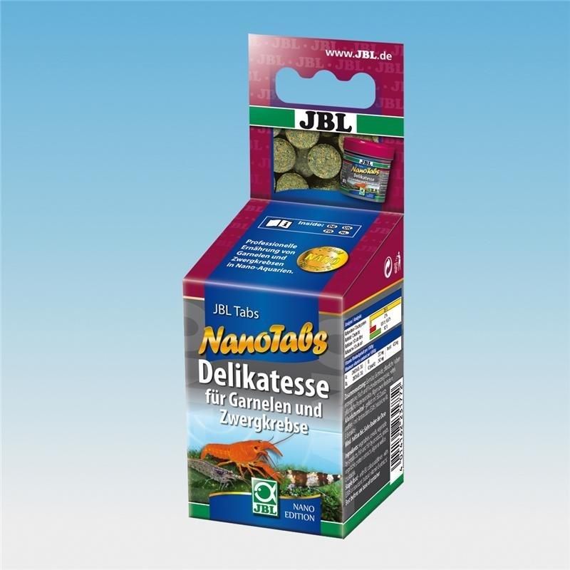 JBL NanoTabs Hauptfutter für Garnelen und Zwergkrebse, 60 ml
