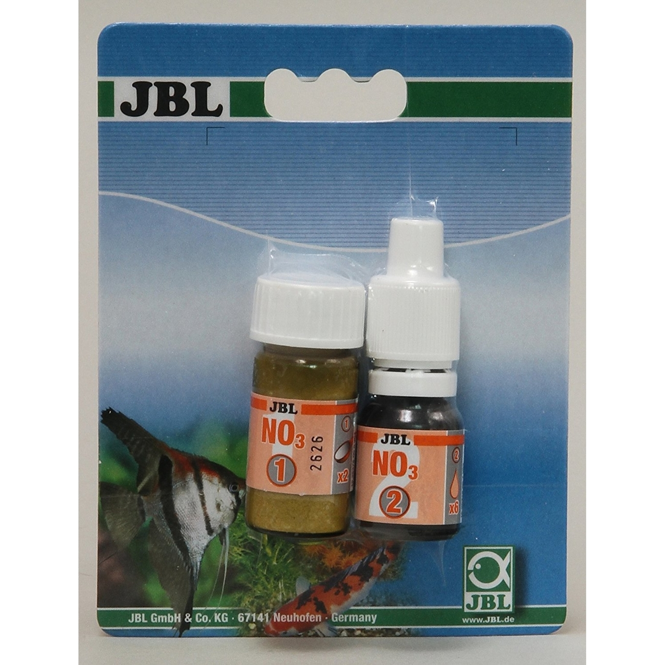 JBL NO3 Nitrat Reagens Nachfüllpack, Nachfüllpack