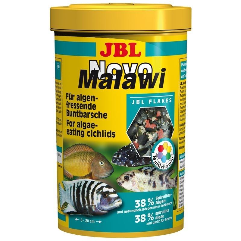 JBL NovoMalawi Aquarium Fischfutter, 250 ml