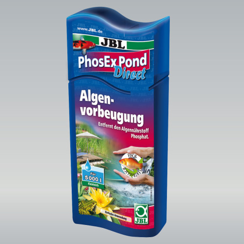 JBL PhosEx Pond Direct Phosphatentferner für Teiche, 250ml