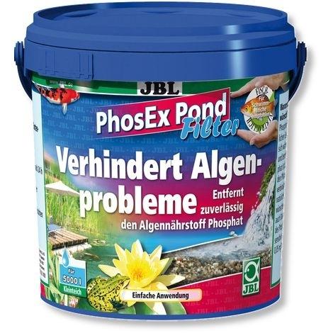 JBL PhosEx Pond Filter Phosphatentferner für Teichfilter, 1kg (2,5l)