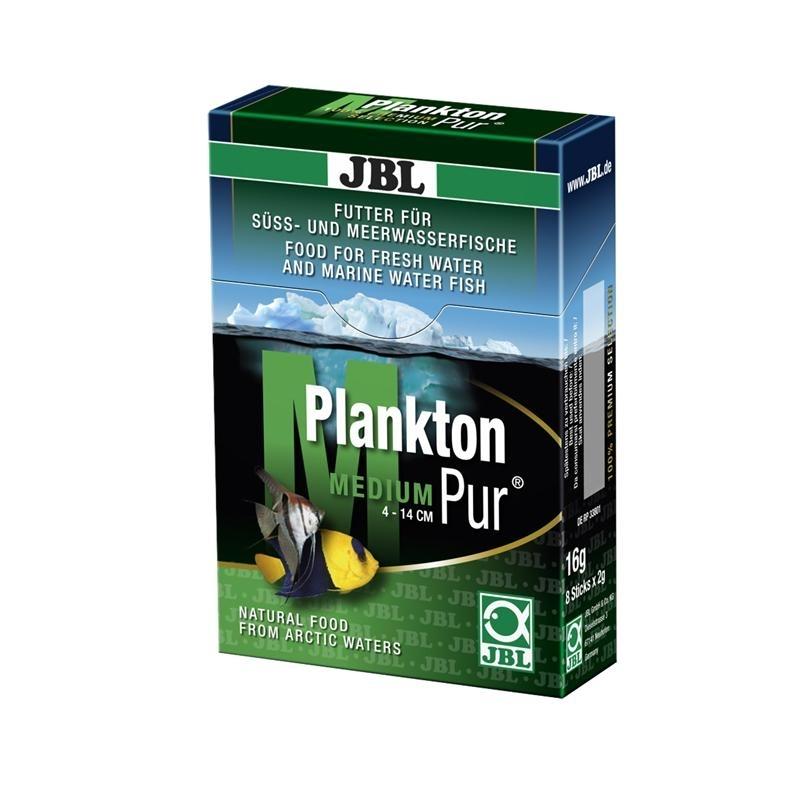 JBL PlanktonPur für Aquarienfische, M (2g / 8 Stck)