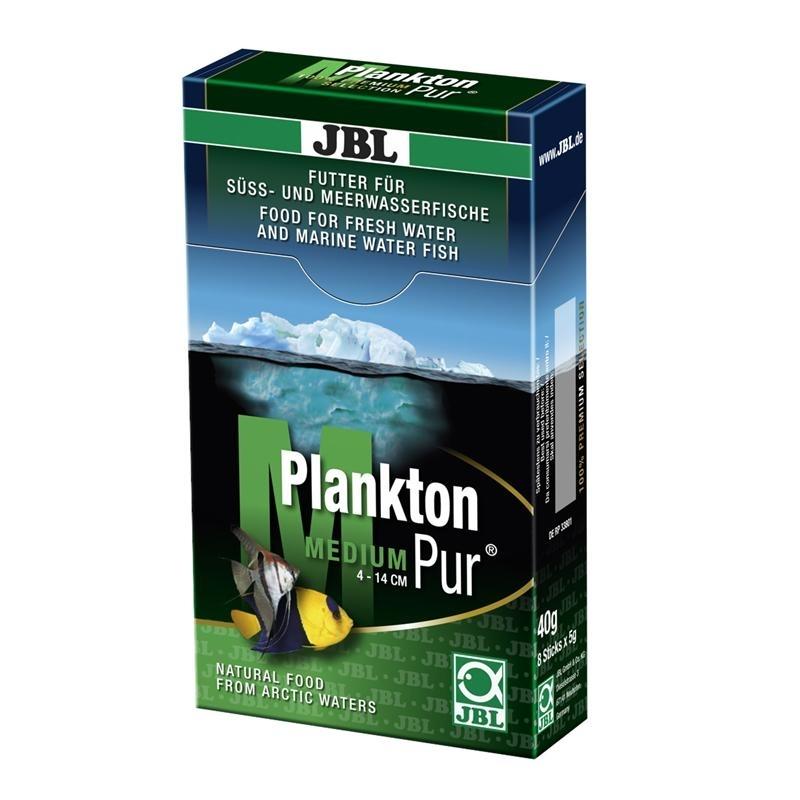 JBL PlanktonPur für Aquarienfische, M (5g / 8 Stck)