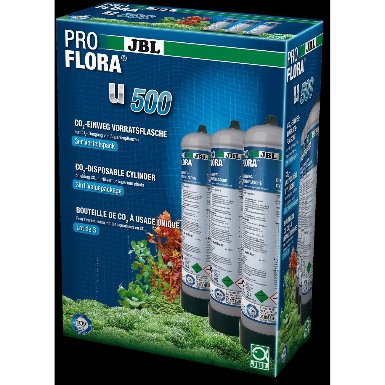 JBL ProFlora u500 (CO2-Einweg-Vorratsflasche), Bild 2