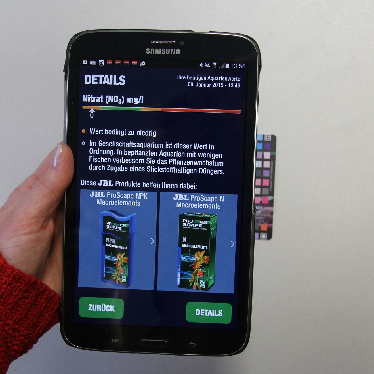 JBL ProScan Wassertest mit Smartphoneauswertung, Bild 6