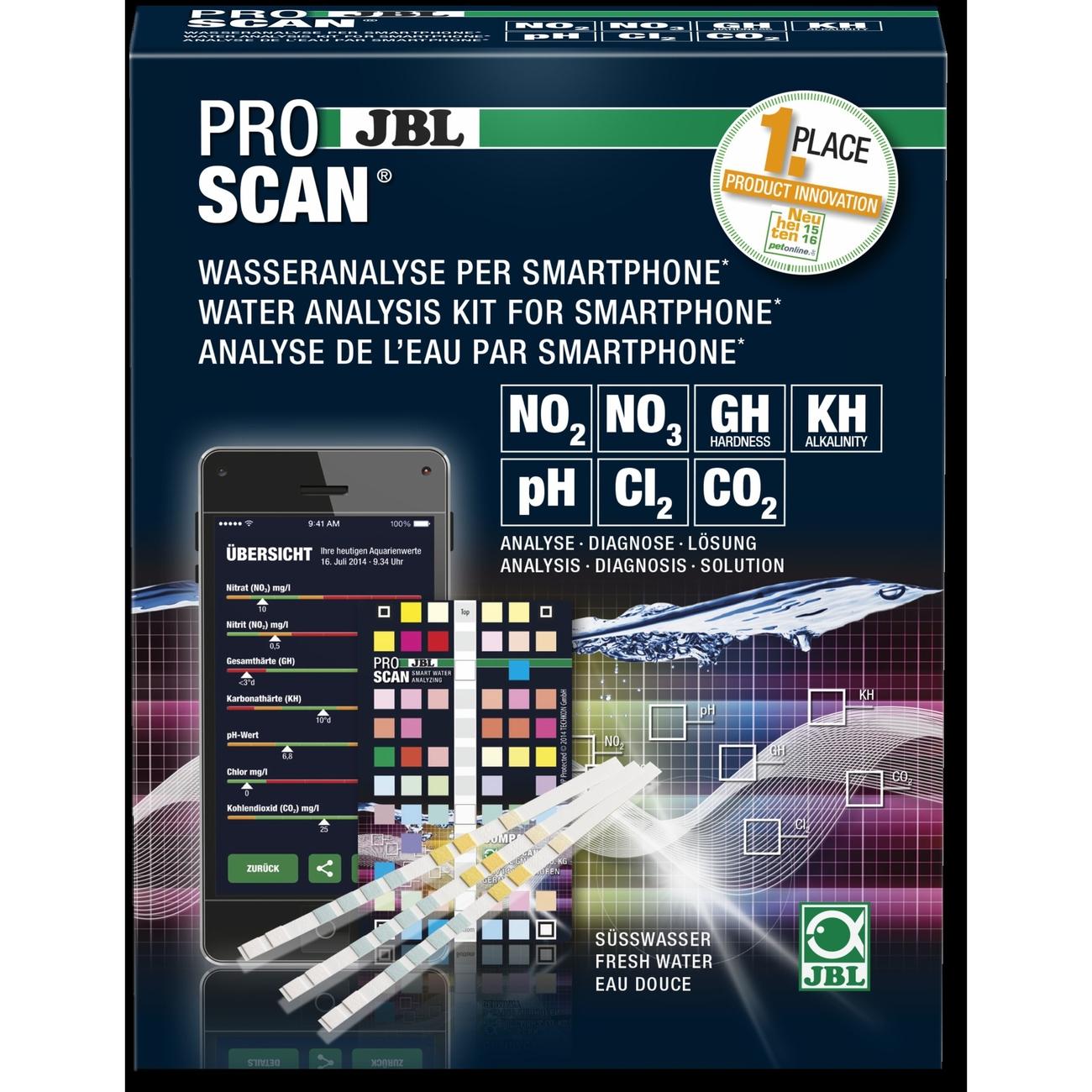 JBL ProScan Wassertest mit Smartphoneauswertung, Bild 3