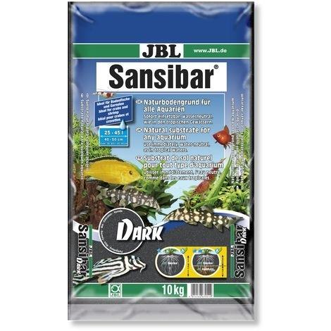JBL Sansibar DARK Bodengrund für Süß- und Meerwasser-Aquarien, 10kg