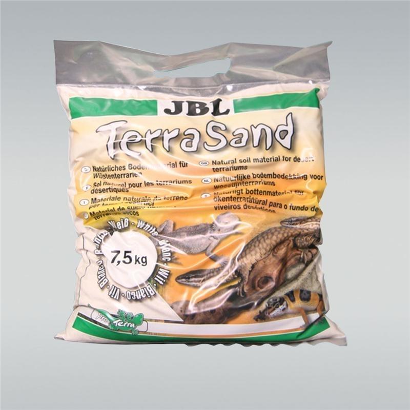 JBL TerraSand natur-weiß Bodengrund für Wüstenterrarien