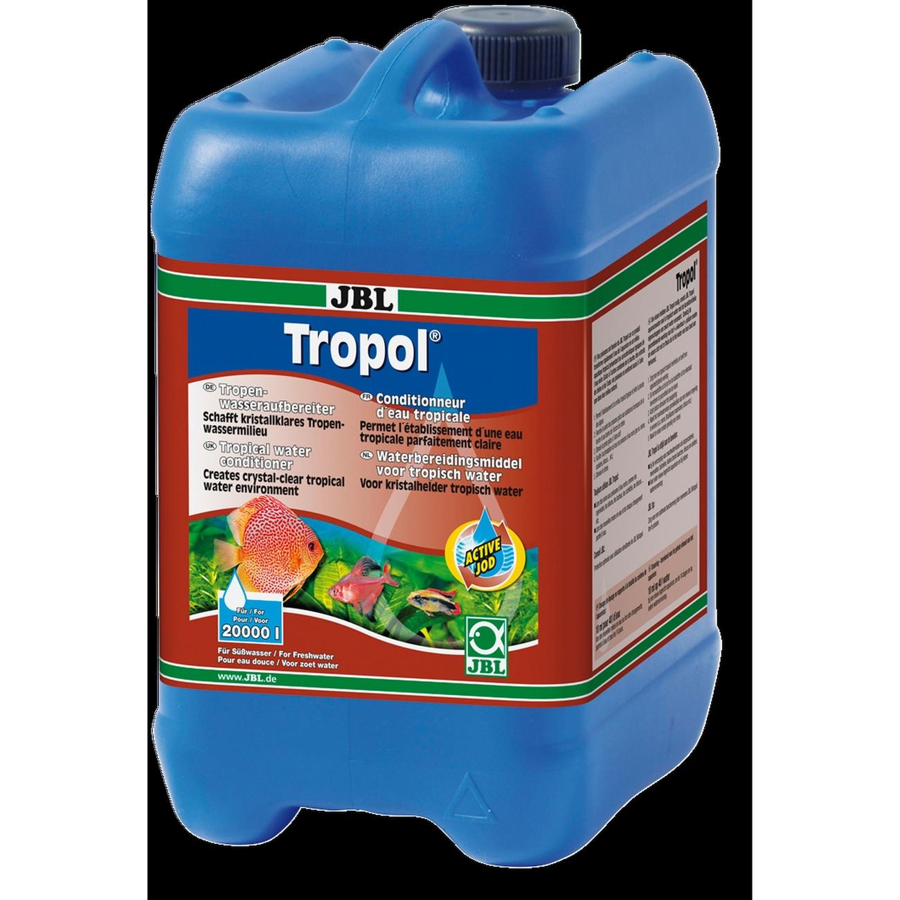 JBL Tropol Wasseraufbereiter für Süßwasser-Aquarien, 5 l