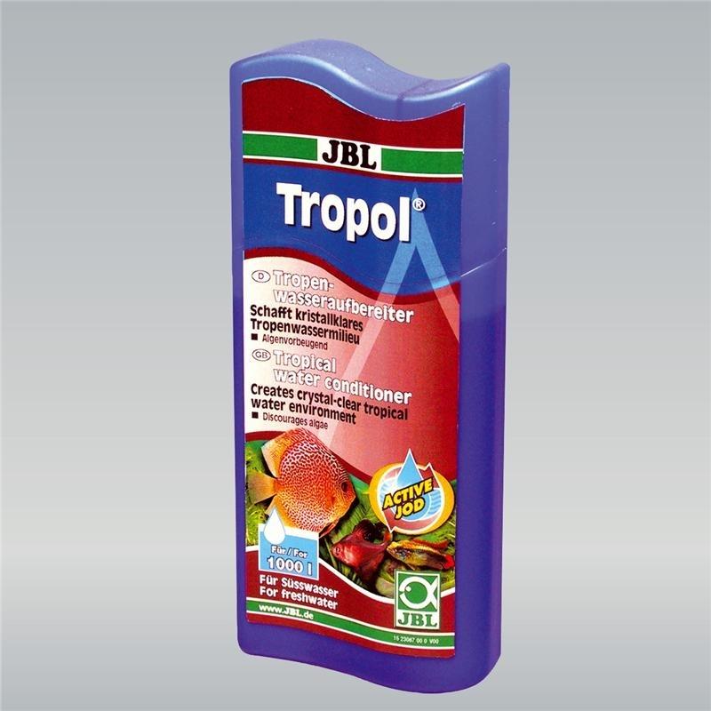 JBL Tropol Wasseraufbereiter für Süßwasser-Aquarien, 250 ml