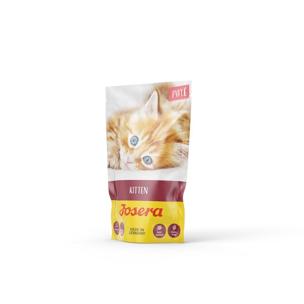 Josera Paté Nassfutter für Katzen, Kitten 16x85g