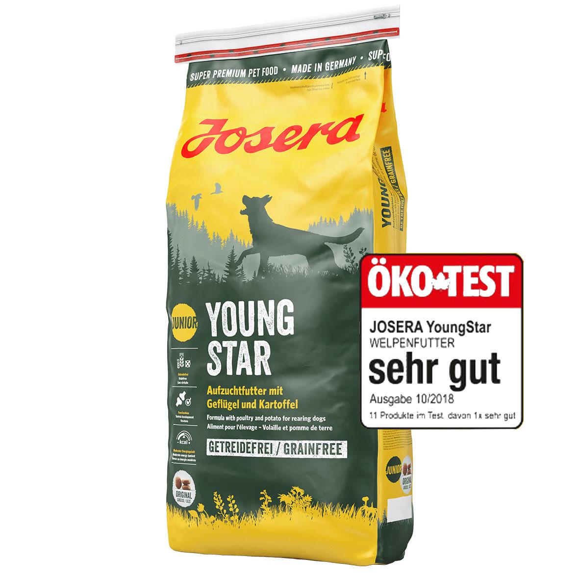Josera YoungStar Welpenfutter getreidefrei, Bild 2
