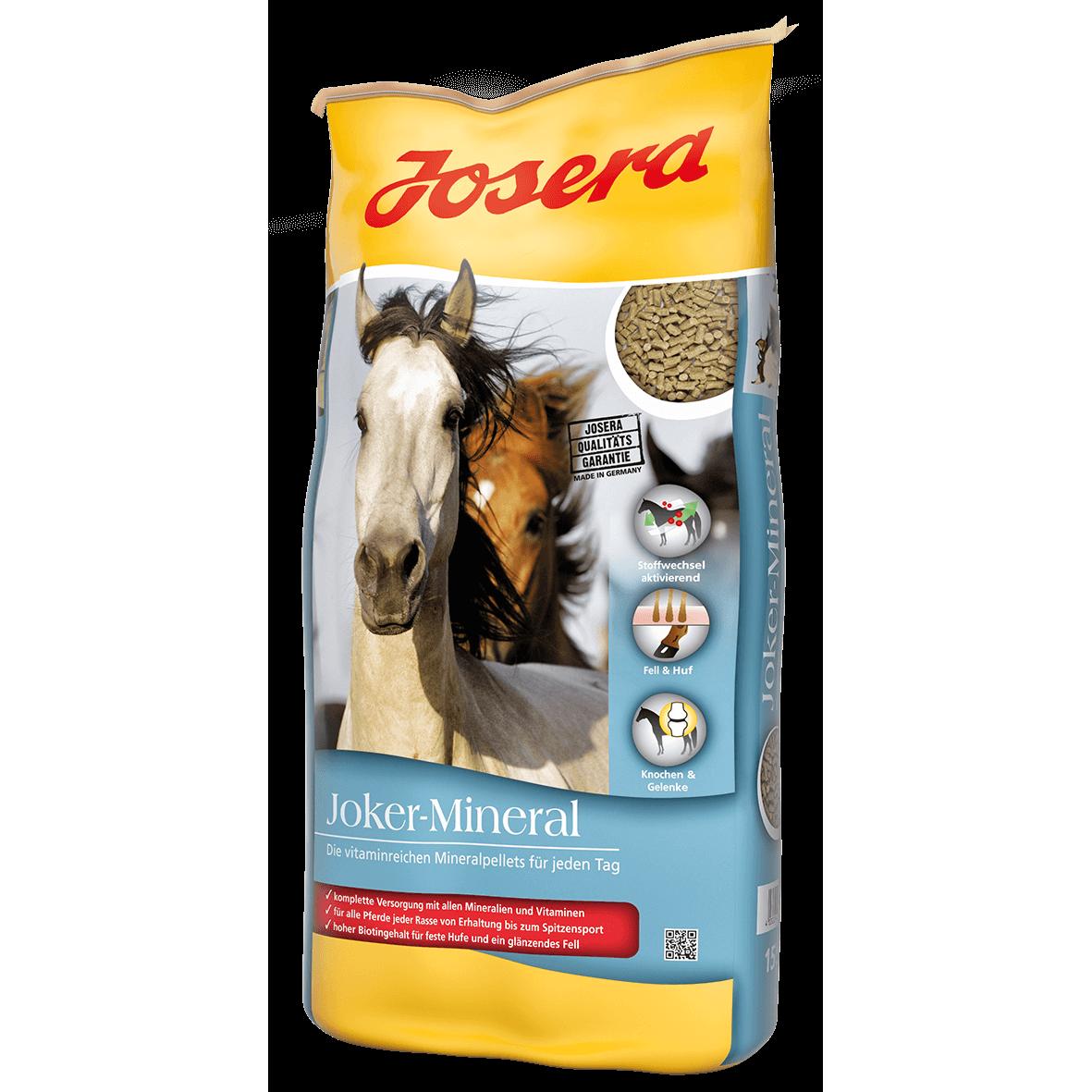 Josera Joker Mineral Pferdefutter, 15 kg