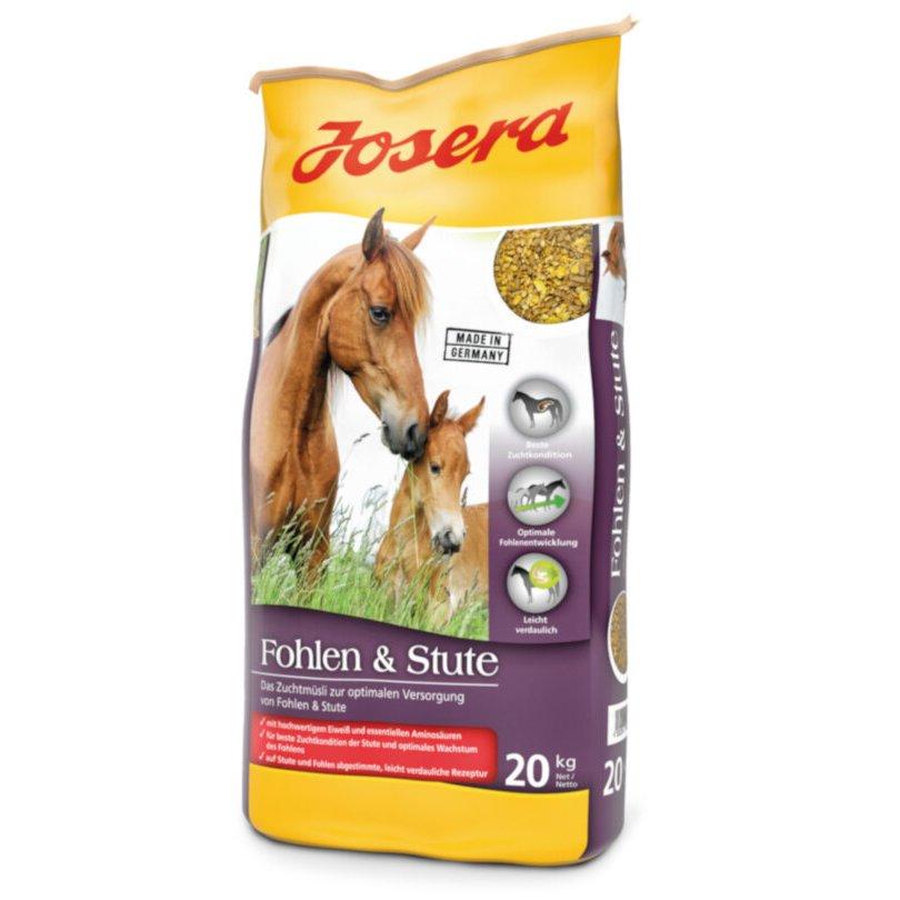 Josera Pferdefutter für Fohlen und Stute, 20 kg