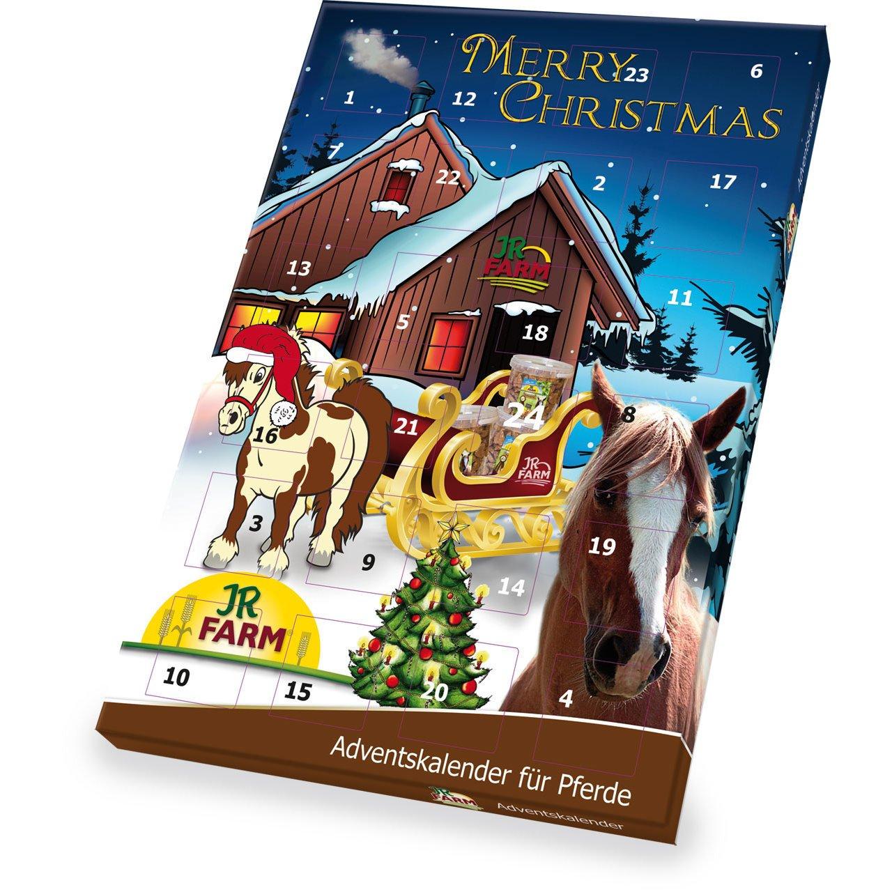 JR Farm Adventskalender für Pferde, 140 g