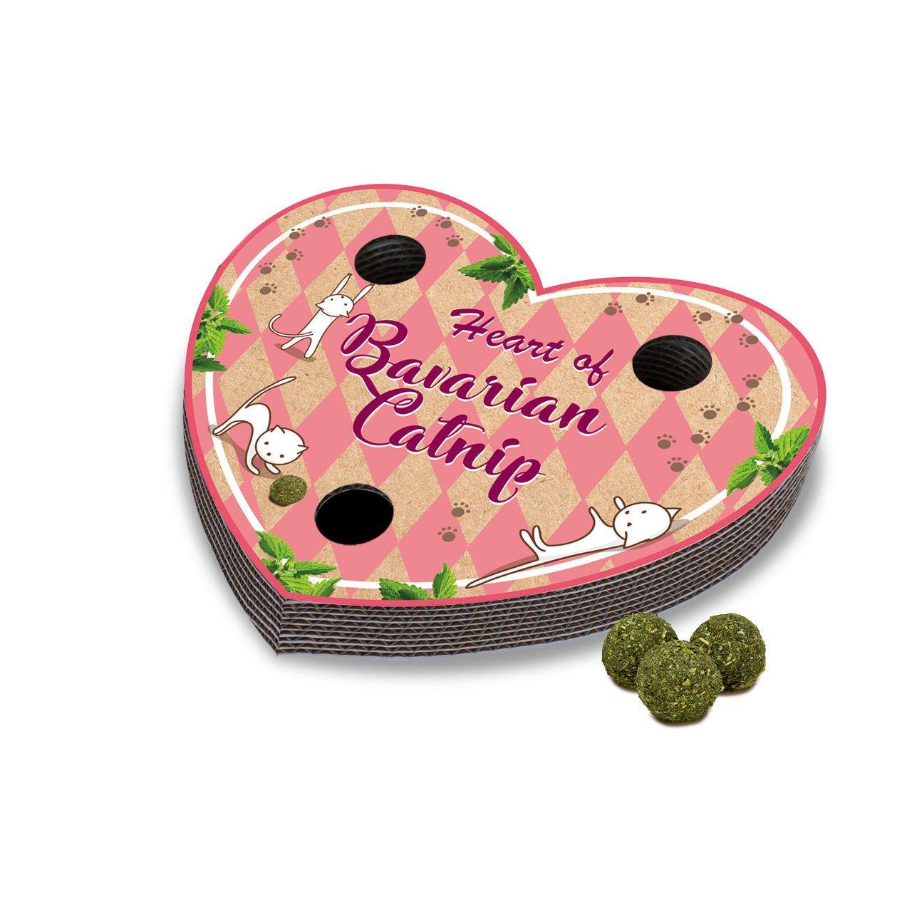 JR Farm Bavarian Catnip Heart, Herz - rosa