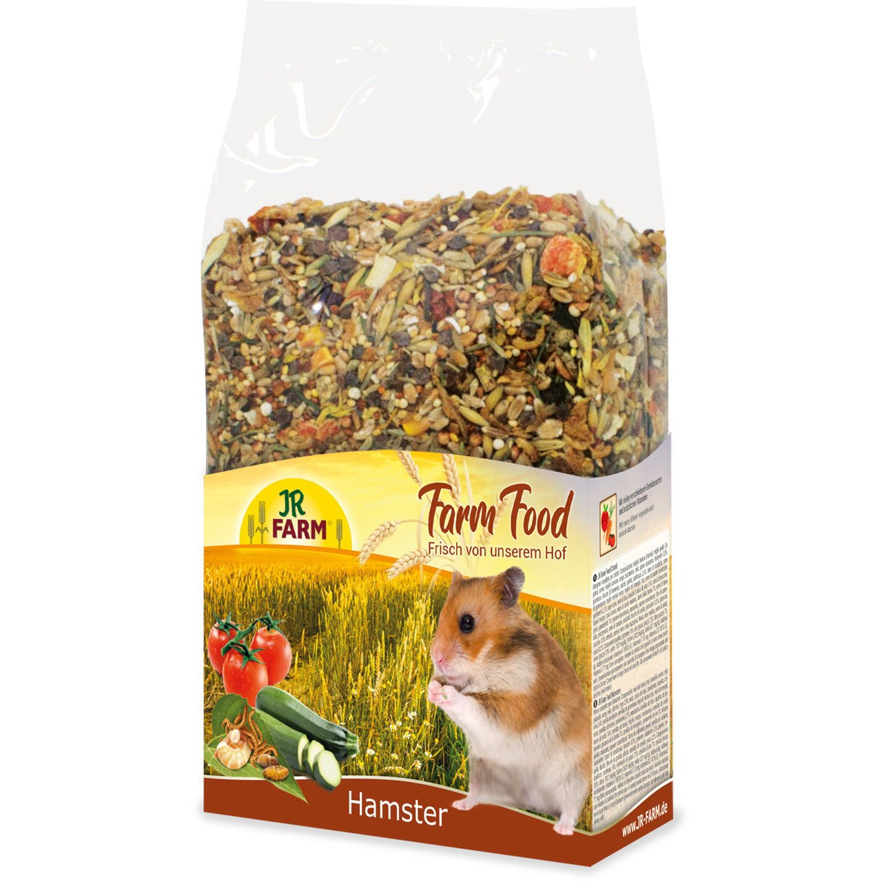 JR Farm Food Hamster Adult Hamsterfutter, 500 g